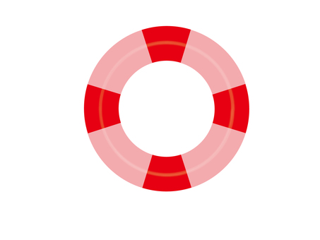 Floating wheel (pink × red)
