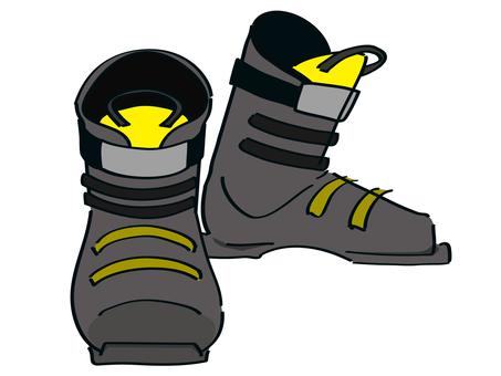 Ski boots (board boots)