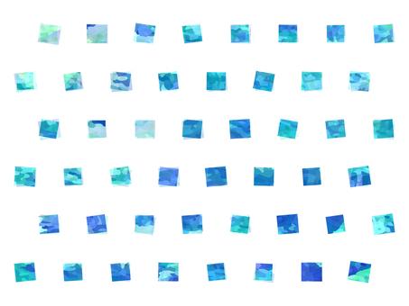 Polka dot dot blue