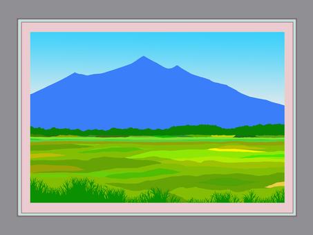 Photo frame and Tsukuba