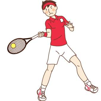 Tennis player (male)