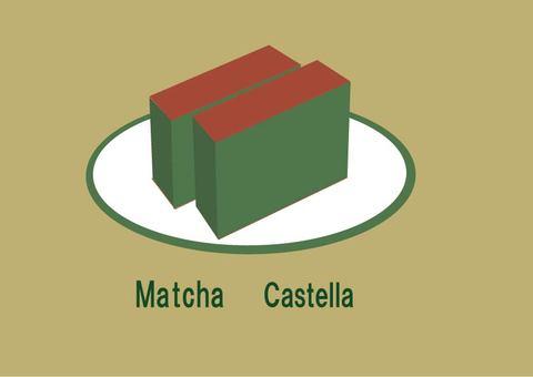 Matcha castella