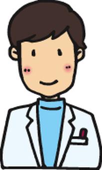 薬剤師B/男性