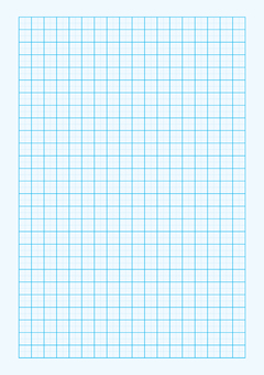 Graph paper pattern (blue)