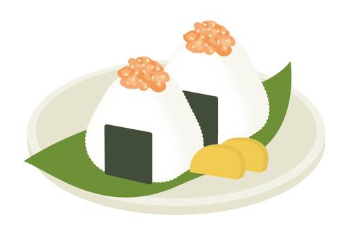 Rice ball Salmon