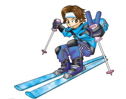Skier 5