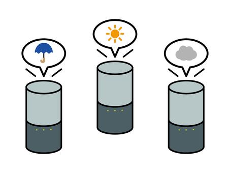 Smart Speaker Informing the Weather