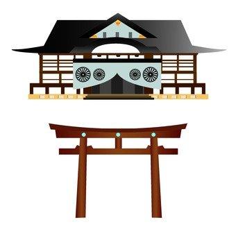 神社和寺廟