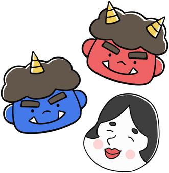 Setsubun mask