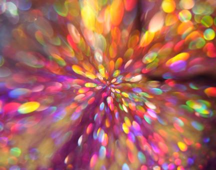 Glitter neon background