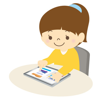 Child using a tablet-02