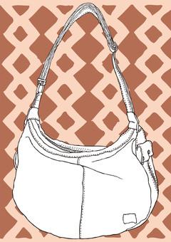 Shoulder bag drawing