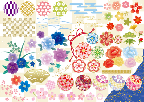Kimono pattern parts kit
