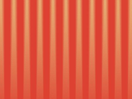 Striped red