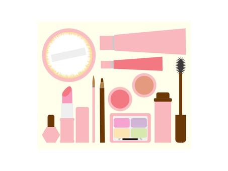 化妝品粉紅