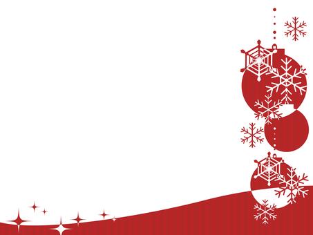 Border of Christmas Ornament