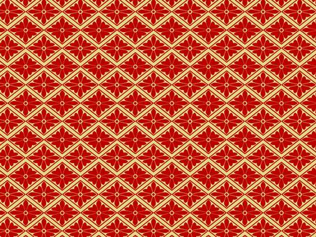 Chiyogami Hanabishi (red)