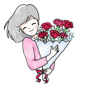 어머니의 날 ~ 카네이션의 꽃다발 2