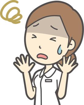 お団子ナース白衣-027-バスト