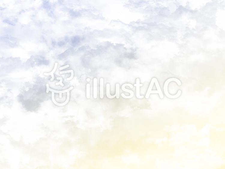 【フリーイラスト素材】明け方の空