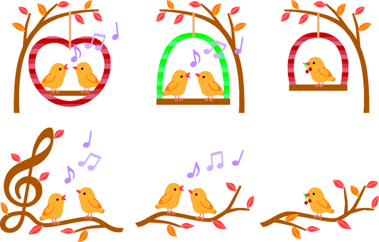 Birds and Music (Autumn)