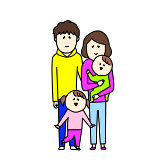 4-person family