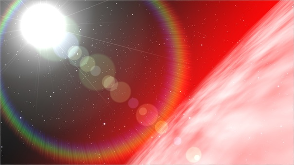 Celestial bodies (red)