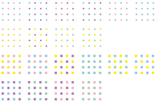 Square pattern swatch