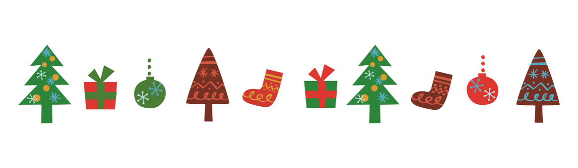 北欧風クリスマスライン