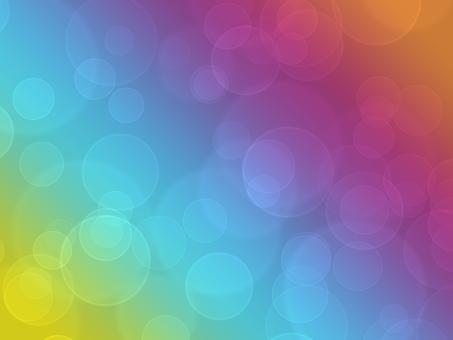 Texture fantastic round blur