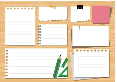 Notepad material