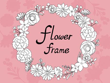植物花卉框架04