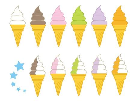 Soft cream (various)
