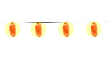 Plain lantern with lit light plain ver.