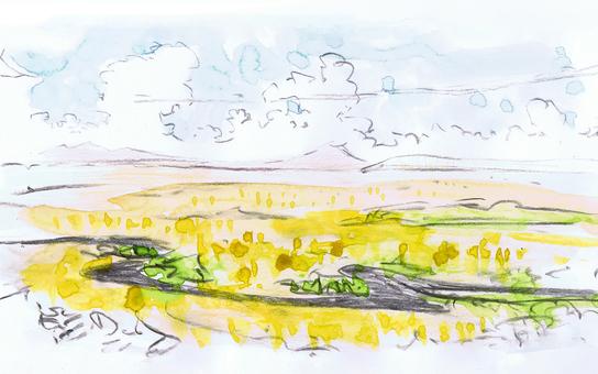 Kushiro Marsh (Croquis)