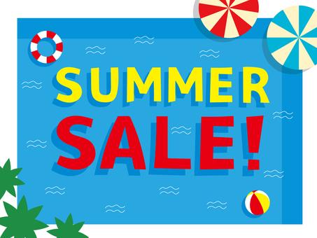 人物夏天銷售夏天