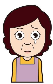 Helper (crying)