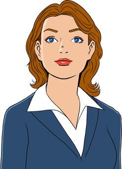 미국 만화 터치의 여성 5