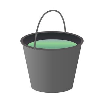 Bucket, black