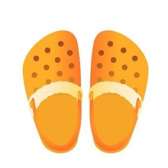 Sandal (Orange)