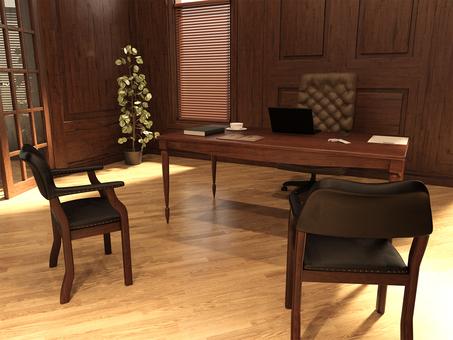 Office room unattended desk 4 heavy feeling