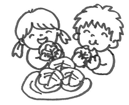 Children's day Kashihashimoku