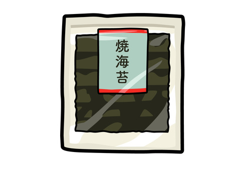 Processed food_Seafood_Nori_With line