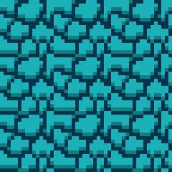 Stone pavement dot picture