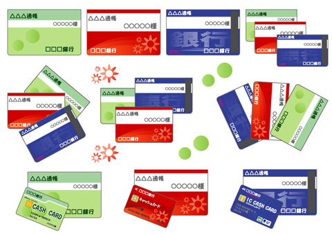 Passbook & Cash Card Set-01