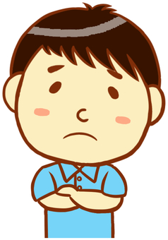 """Polo shirt man (troubled face) """"light blue"""""""