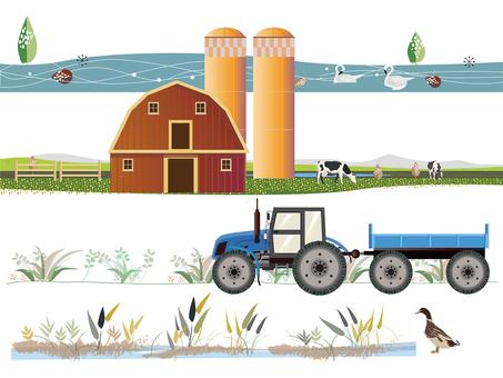 Milk Farm 遠景農場セット