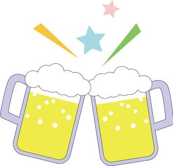 Drink 2 Toast _ Beer _ Jokki _ Kanpai