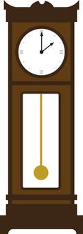 Big old clock (pendulum clock)