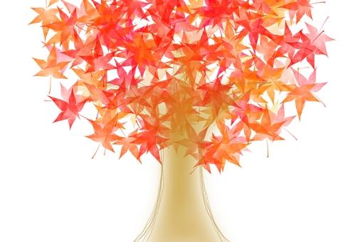 Autumn Leaves Tree 1